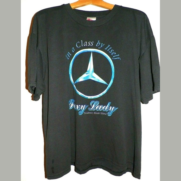 7639b6f5 Hanes Shirts | Mens Xl Mercedes Benz Foxy Lady T Shirt | Poshmark